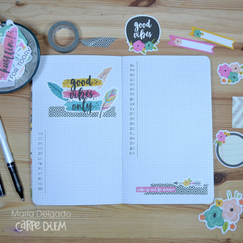 AWESOME AUGUST BULLET JOURNAL
