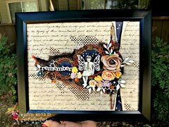 Vintage - Mixed Media Layout