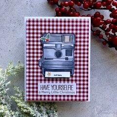 """Interactive Christmas """"retro"""" card"""