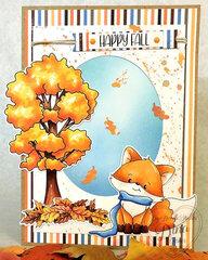 Happy Fall Little Fox