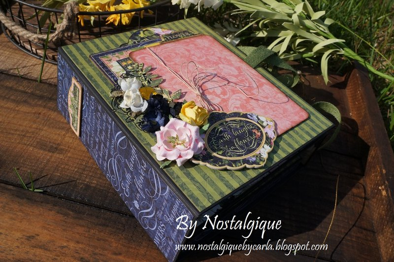 Floral Shoppe Folio Album