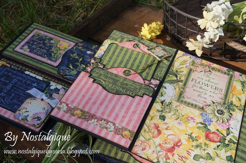 Floral Shoppe Folio Album