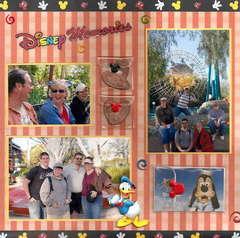 Disney Memories Page 1