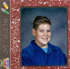 Middle School - Justin 7th grade