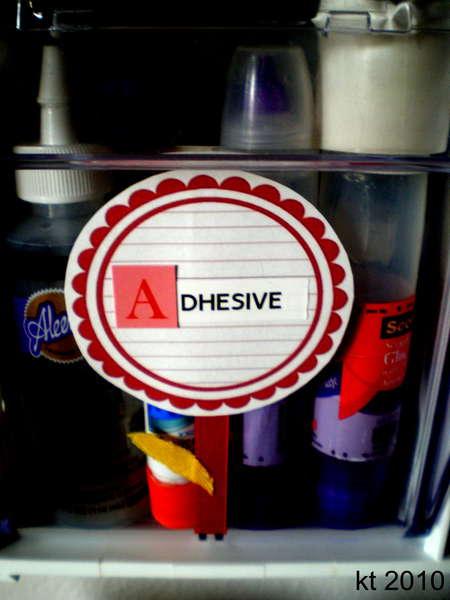 {A - Adhesive}