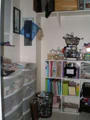 28-Day Challenge - Scrap Space Closet (Before)