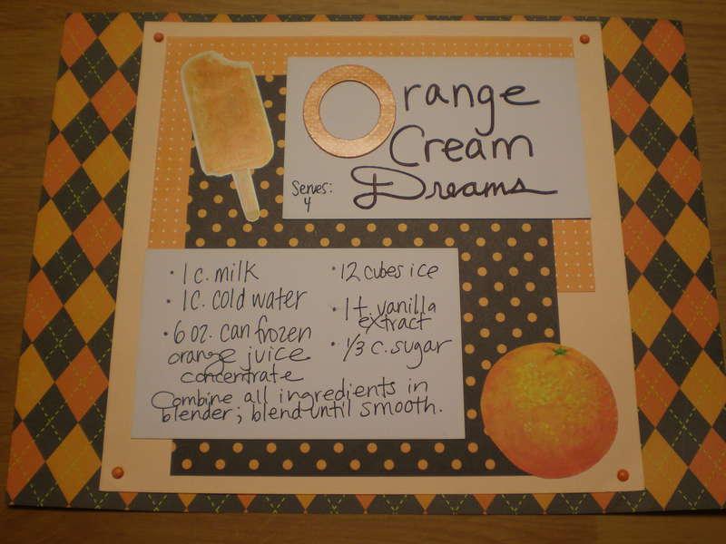 Orange Cream Dreams
