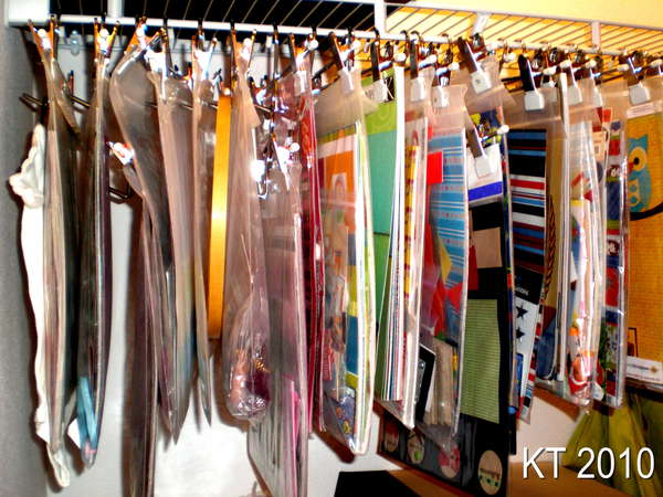 hanging kit storage