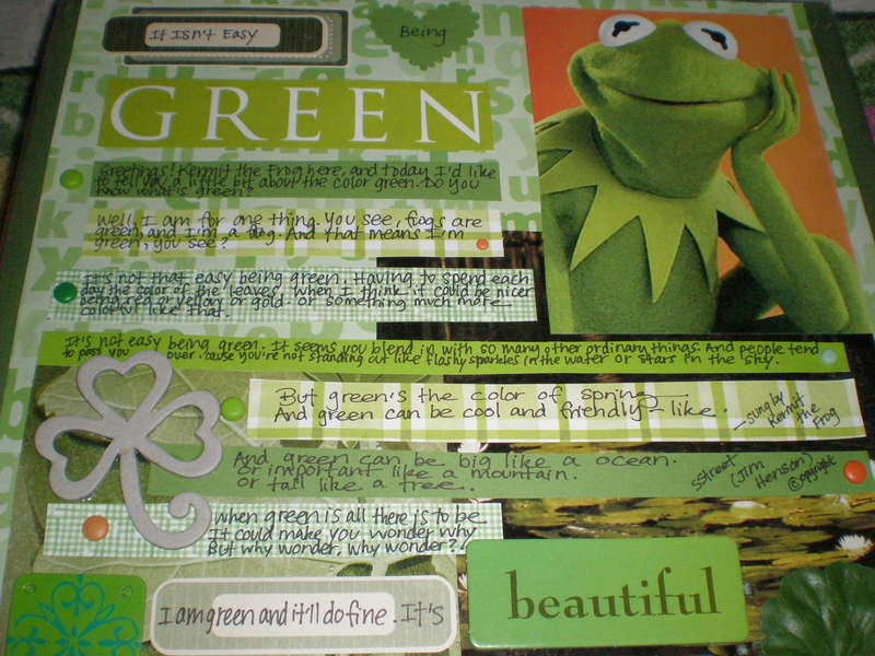 'It's Not That Easy Being Green'