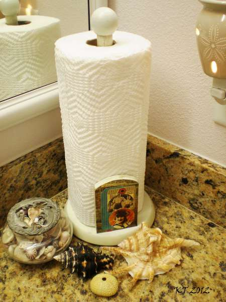 {Graphic 45 Paper Towel Holder}