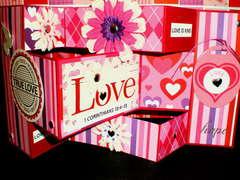 Valentine Tri-Fold Card #1