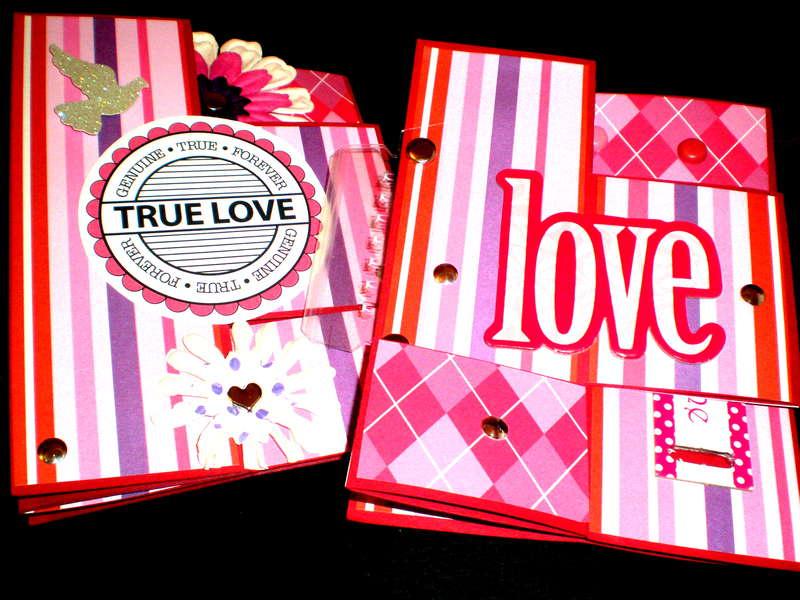Valentine Tri-Fold Cards (Closed)