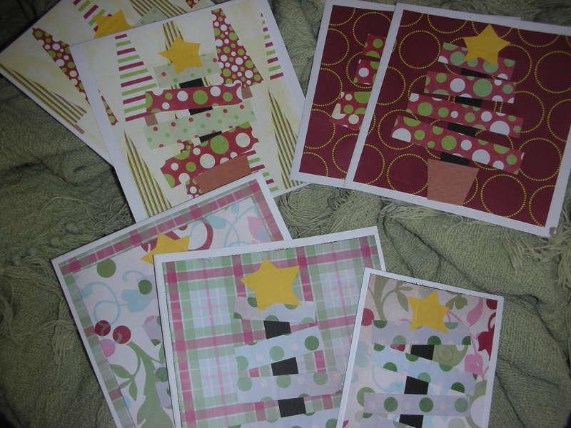 Christmas Tree Cards 2007
