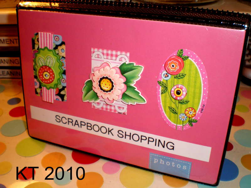 Scrapbook Shopping Book
