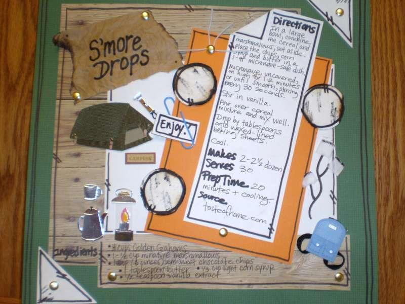 S'more Drops Recipe Card