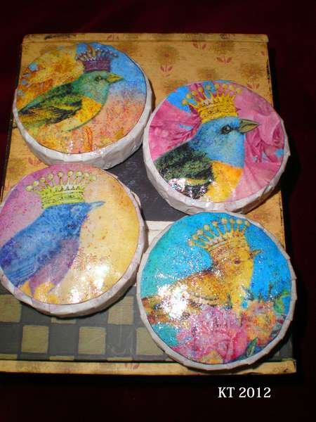 {Bird & Crown Bath Soaps}