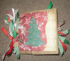 Family Christmas Paper Bag Album