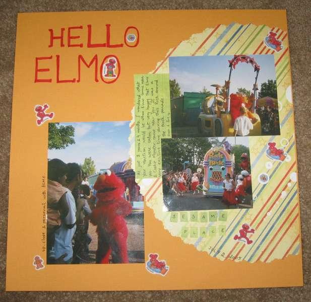 Hello Elmo