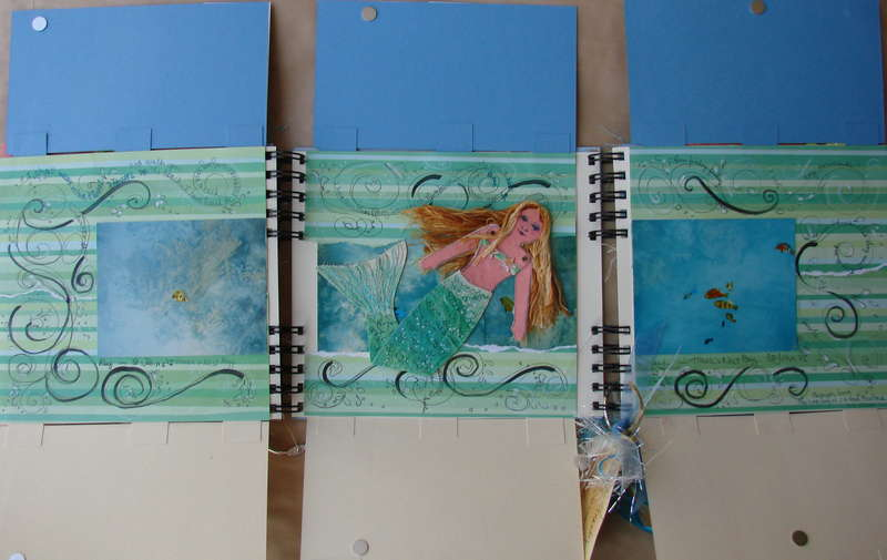 By THE SEA circle journal