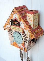 Carta Bella Autumn Cuckoo Clock