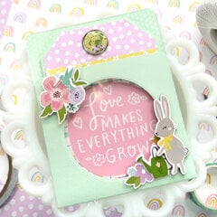 Spring A2 Pocket Card with Window