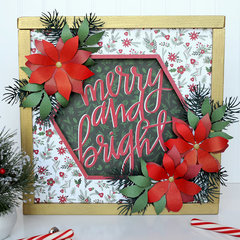 Carta Bella Christmas Delivery Home Decor Frame