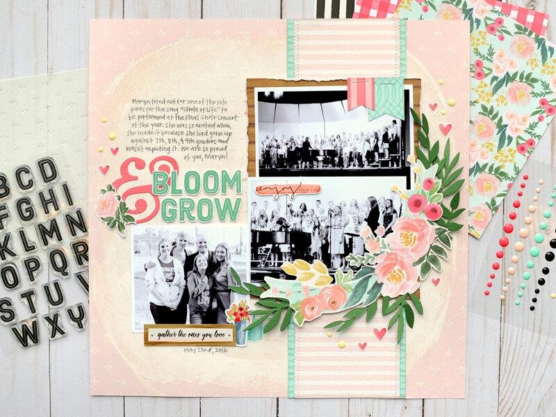 Carta Bella Flower Market - Bloom & Grown