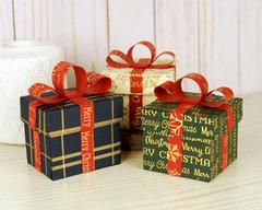 Carta Bella Stocking Stuffer Gift Boxes