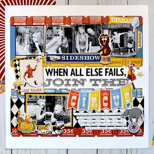 Carta Bella Paper Circus Collection: Join the Circus
