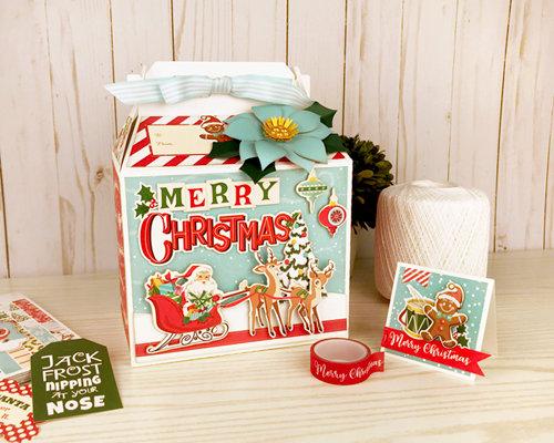 Merry Christmas Gable Gift Box