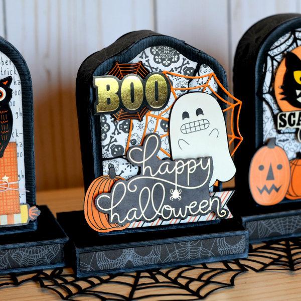 Halloween Headstone Treat Boxes
