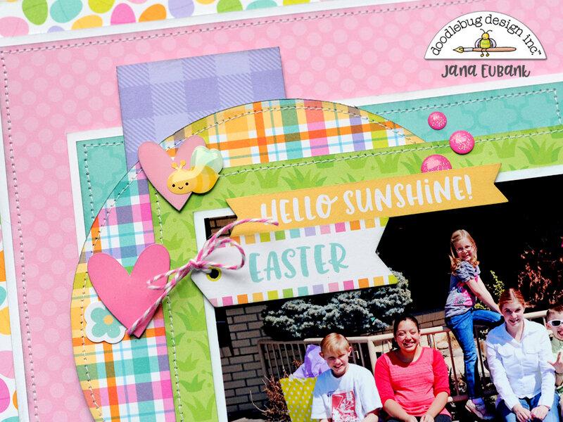 Doodlebug Hoppy Easter - Easter Egg-citement