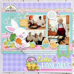 Doodlebug Hoppy Easter - Easter Pancakes