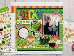 Doodlebug Design Lots O' Luck - Lucky Layout