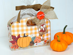 Fall Pumpkin Muffin Totes