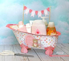 Echo Park Hello Baby Girl - Bathtub Gift Set