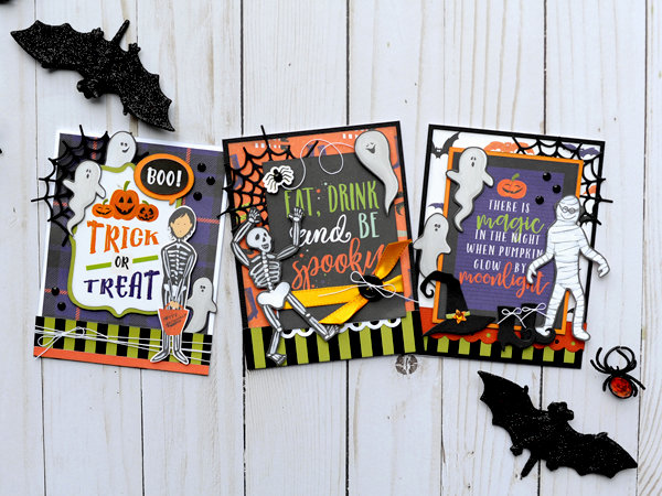 Trio of Halloween Cards