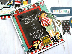 Echo Park Pirate Tales - Trio of Cards