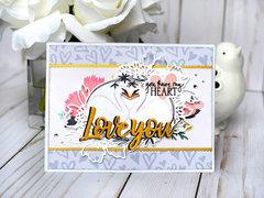Echo Park Paper You & Me Card