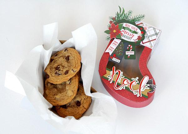 Christmas Stocking Treat Box