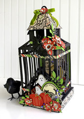 Carta Bella Haunted Bird Cage