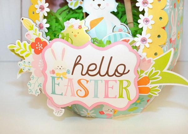 Easter Paper Sugar Egg