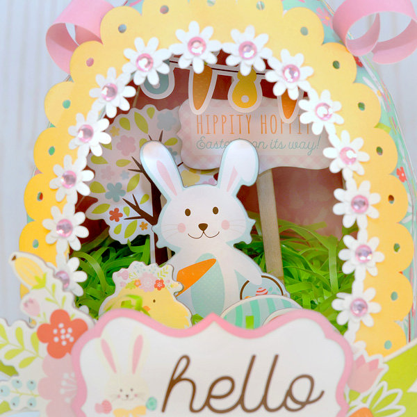 Easter Paper Sugar Egg