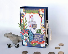 3D Book Shaped Trinket Box for Boys