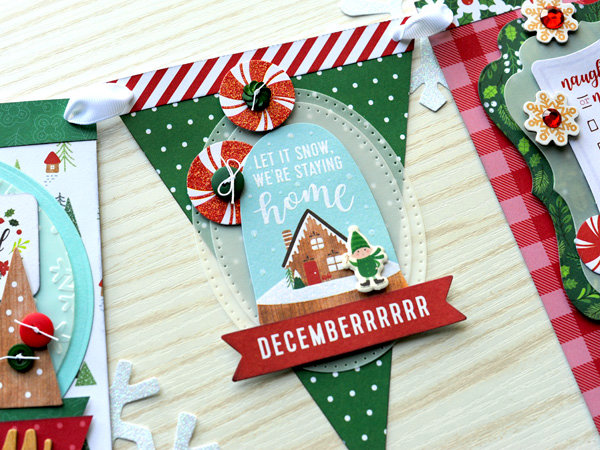 Pebbles Cozy and Bright Christmas Banner