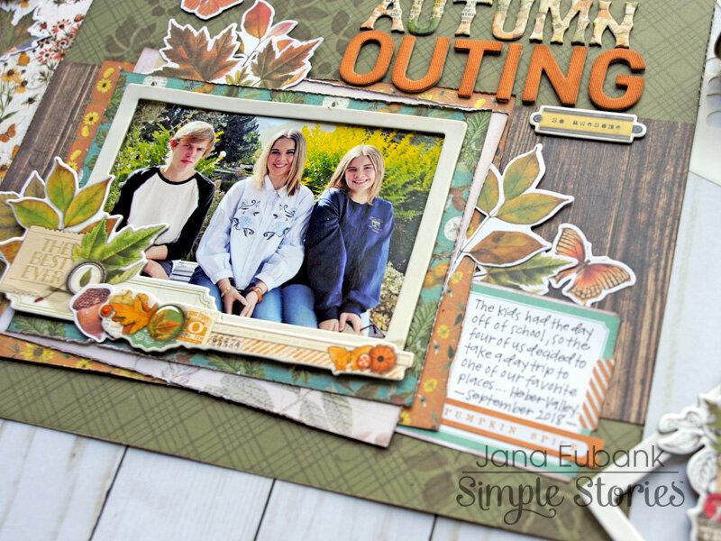 Simple Stories Autumn Splendor - Autumn Outing