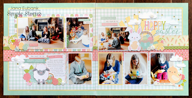 Simple Stories Bunnies & Baskets Simple Set - Hoppy Easter