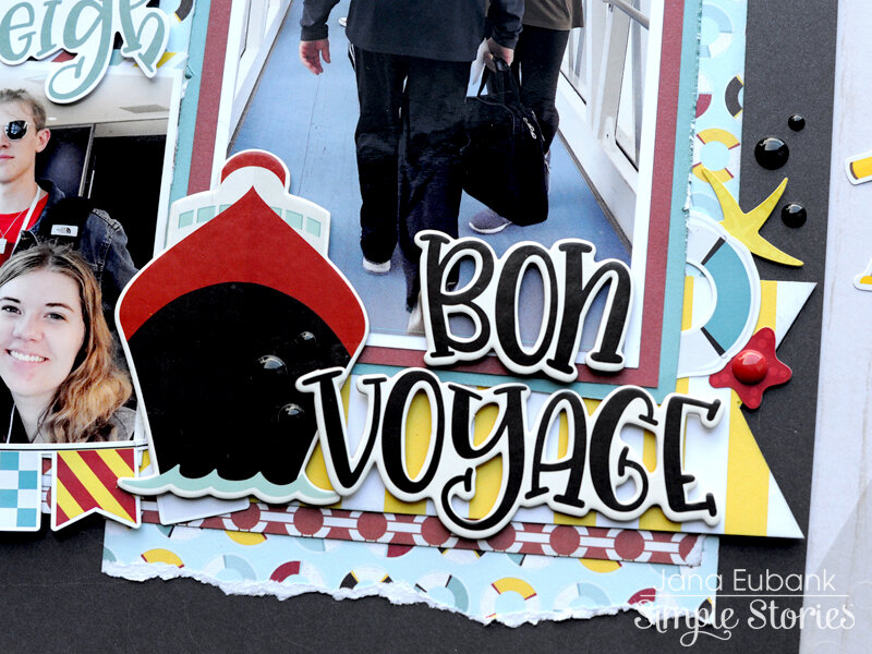 Simple Stories Cruisin' - Bon Voyage!