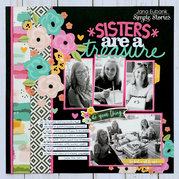 Sisters are a Treasure