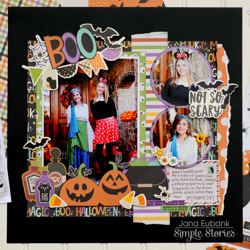 Simple Stories Say Cheese Halloween - BOO